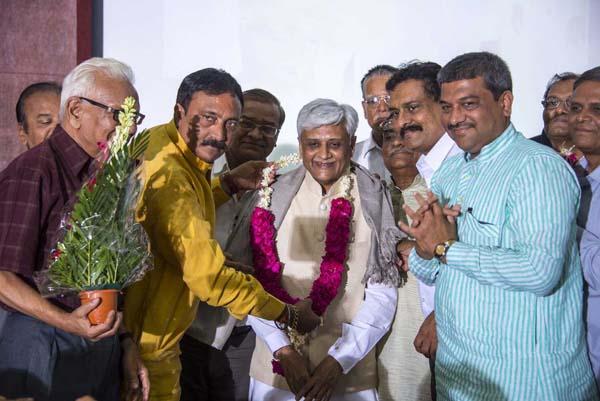 Felicitation of Shri Jyotindra Mehta as President of NAFCUB